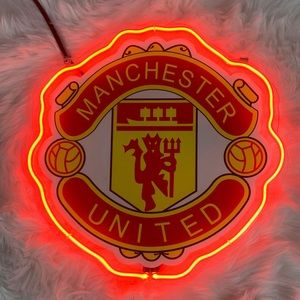 Manchester United Plug in Wall Light Decor